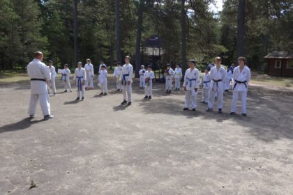 Летний лагерь по карате