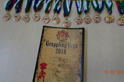 3 этап турнира по грэпплингу лиги JYOSHINMON 2017-2018 г.