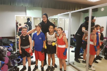 Christmas boxing tournament at the Mustamäe Children's Art House