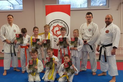 Winter camp for junior belts