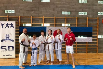 Karate camp 8-13.08.2021 in Pärnu